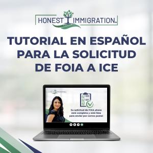 Tutorial para FOIA al departamento de ICE